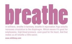 Breathe, Short Sleeved Women's Tee