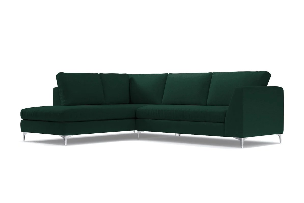 mulholland 2pc sectional sofa configuration laf chaise on the left