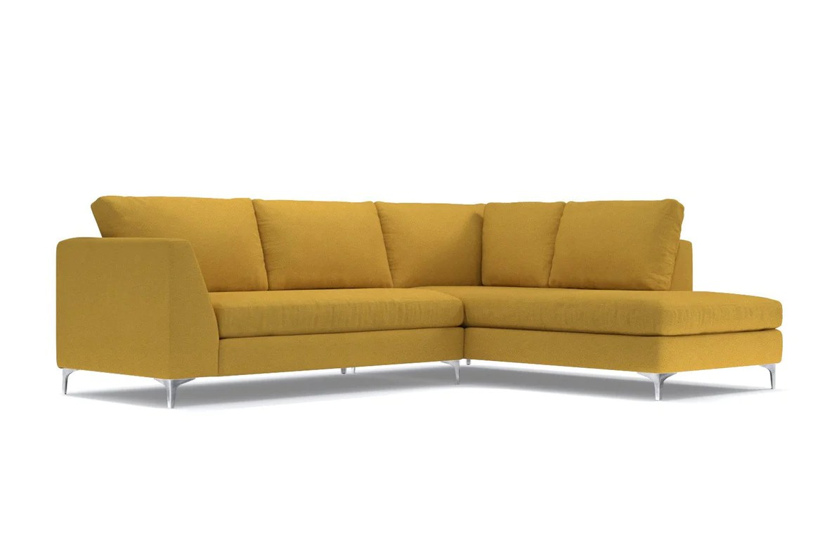 mulholland 2pc sectional sofa configuration raf chaise on the right