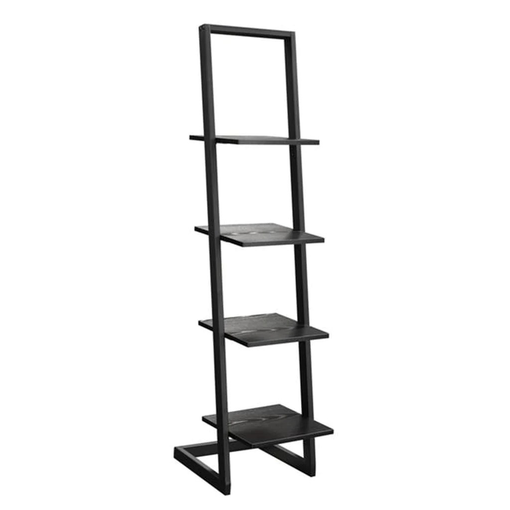 Designs2go 131499bl 4 Tier Ladder Bookshelf Black 13 39 X 13 X 66 14 In Designs2go 131499bl 4 Tier Ladder Bookshelf Black 13 39 X 13 X 66 14