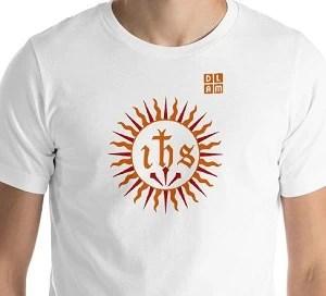 t-shirt chrétien IHS
