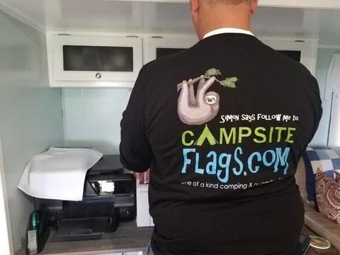 campsiteflags.com gets wrapped