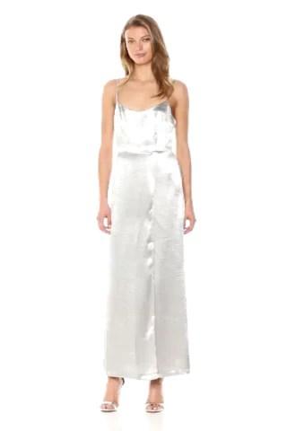 French Connection Women's Kate Shine Slip Dress