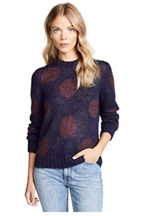 AG Women's Ansley Polka Dota Sweater