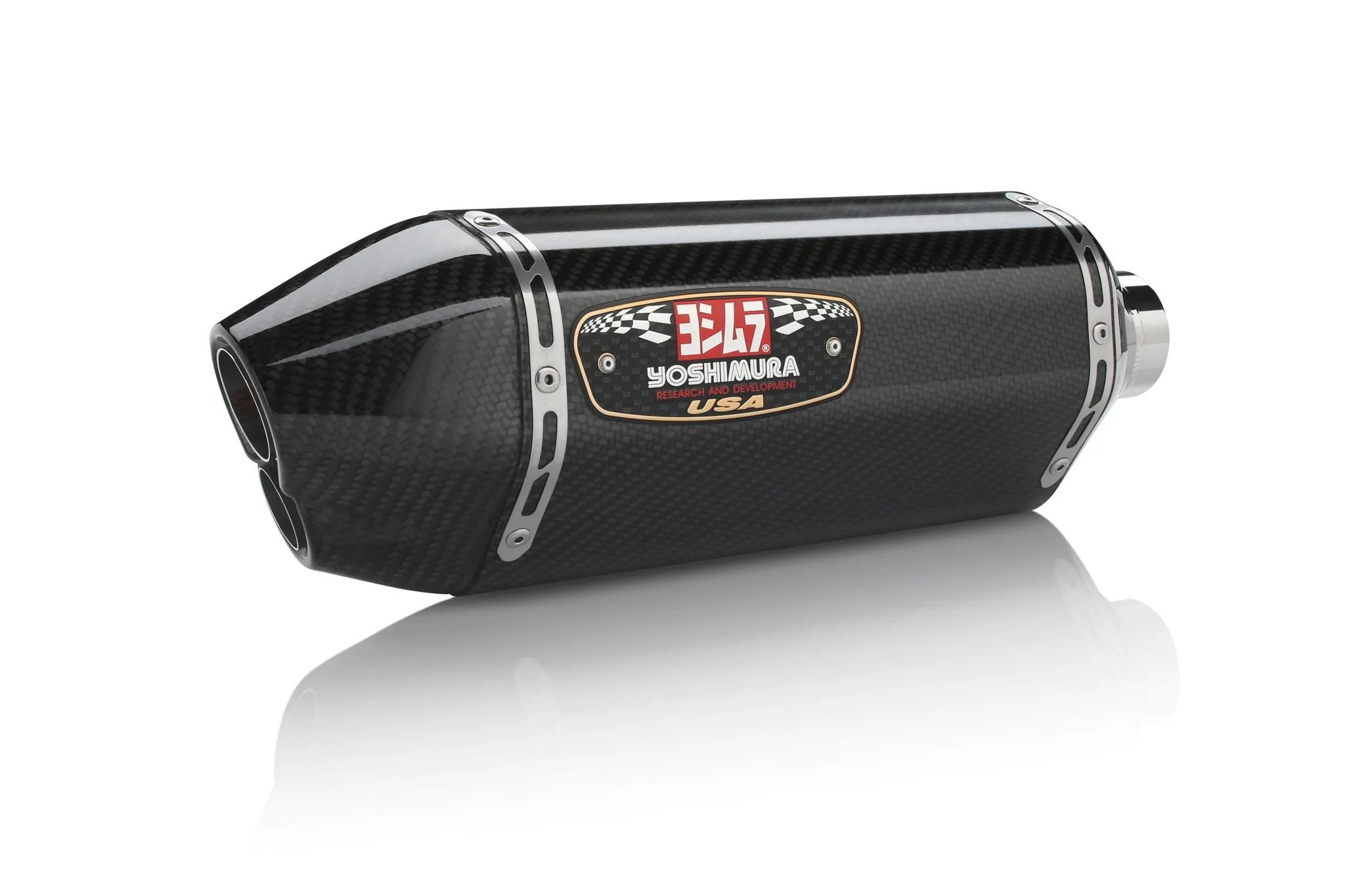 gsx r600 750 11 21 r 77d stainless slip on exhaust w carbon fiber muffler