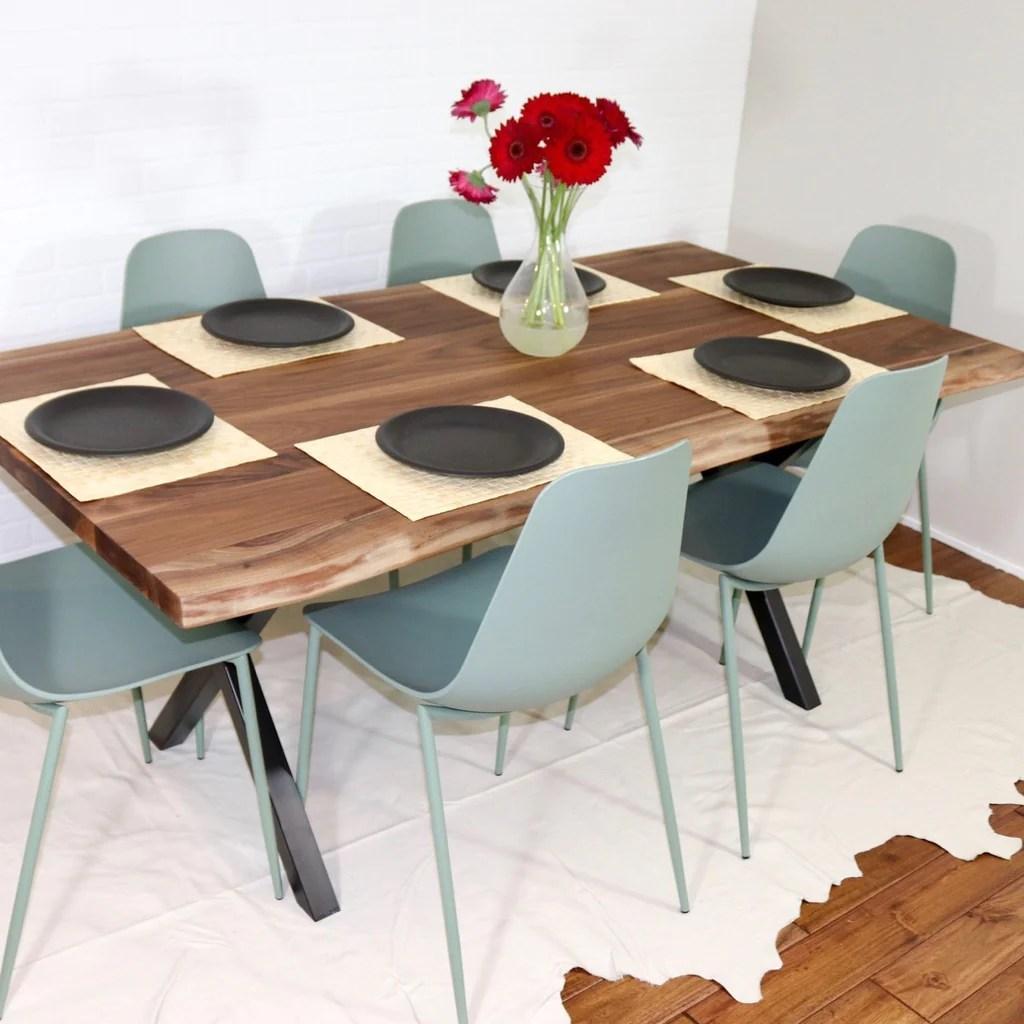 live edge walnut tables loewen design
