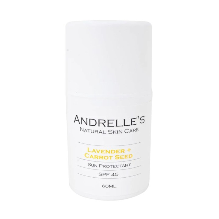 Lavender + Carrot Seed Sun Protectant – Andrelle's Natural Skin Care