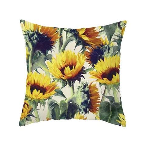 monica sunflower pillow cover