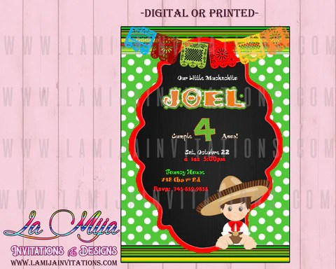 charro invitations customized item charro theme birthday invitations fiesta birthday invitations boy fiesta invitations mexican birthday