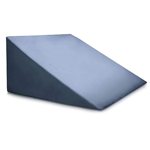 bed wedge pillow clinical grade incline bed rest for sitting up sleep back support pregnancy after surgery recovery