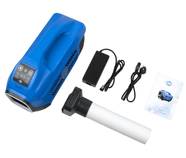 Zero Breeze Portable Air Conditioner Packing List