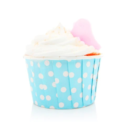 24 Carrot Cupcake Bath Bomb Fortune Cookie Soap