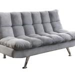 Light Grey Futon Sofa Bed Astar Furniture