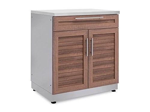 New Age 65603 Outdoor Kitchen 32 Bar Cabinet In Stainless