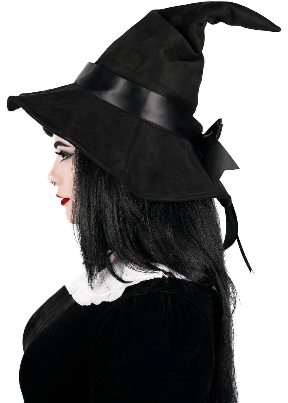 Killstar Mystic Maker Witch Brim Hat Black Www Succubus Com