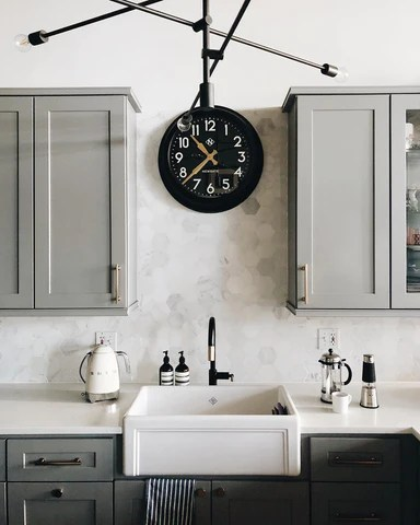 Kitchen Clocks Choosing The Right Style Newgate World Britain Europe