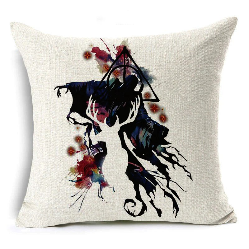 harry potter style cushion cover elk