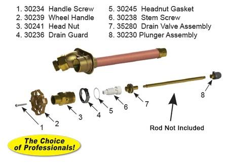 rk 25 model 25 27 faucet repair kit