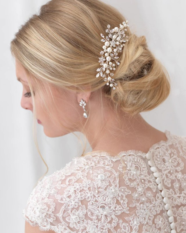 emmy floral comb