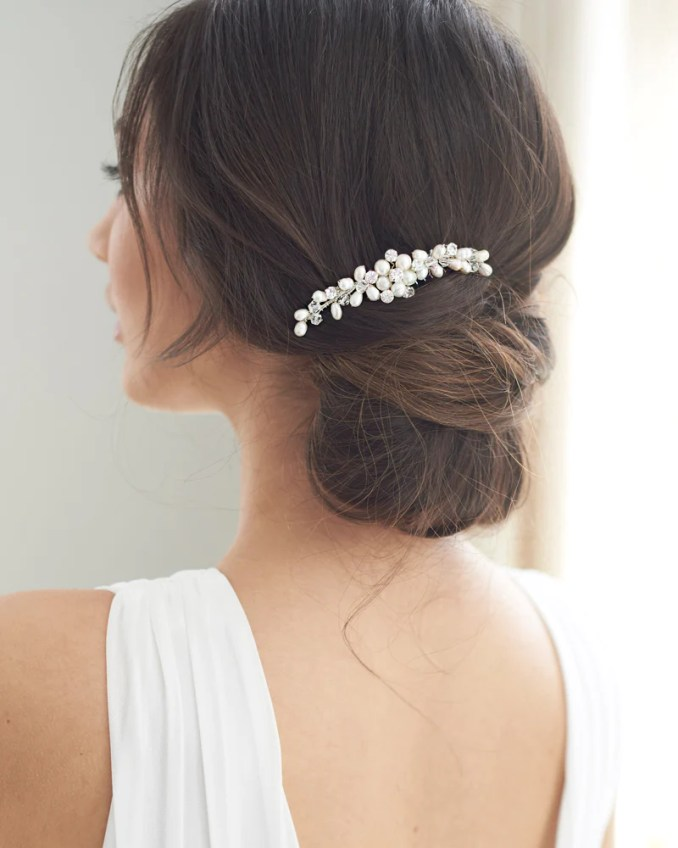 bridal side combs - shop wedding headpieces | usabride