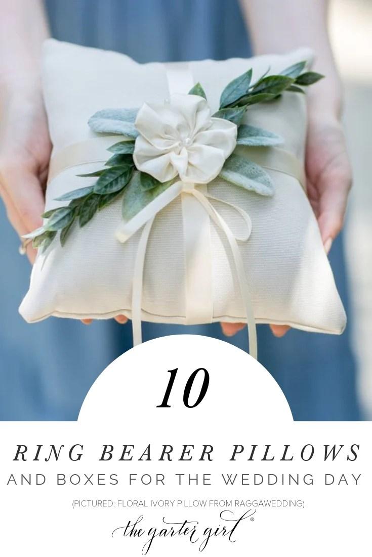wedding ring bearer box ideas