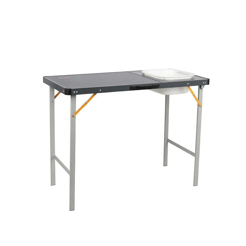 oztrail camp table with sink