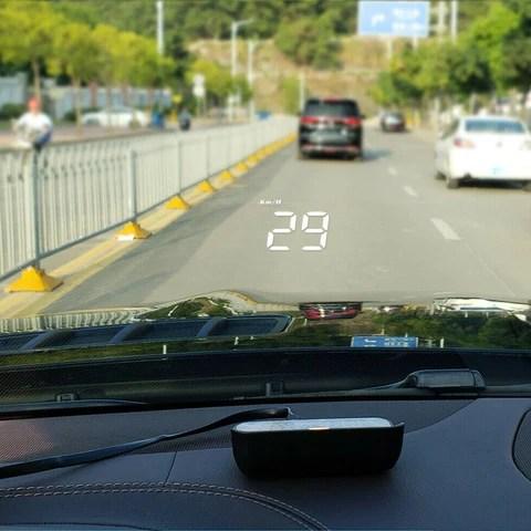 car HUD display
