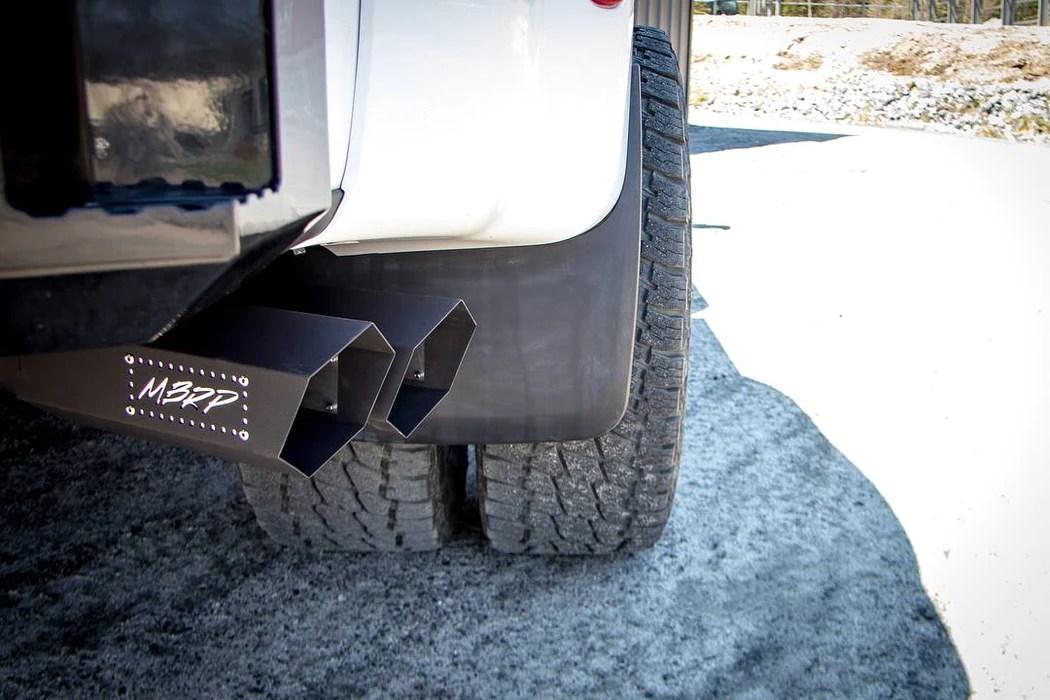 mbrp black hexagon exhaust tip