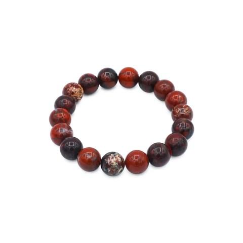 """<img src=""""Red Jasper-10mm-7.5,8,8.5-NSB"""" alt=""""Red Jasper natural stone bracelet 10mm"""">"""