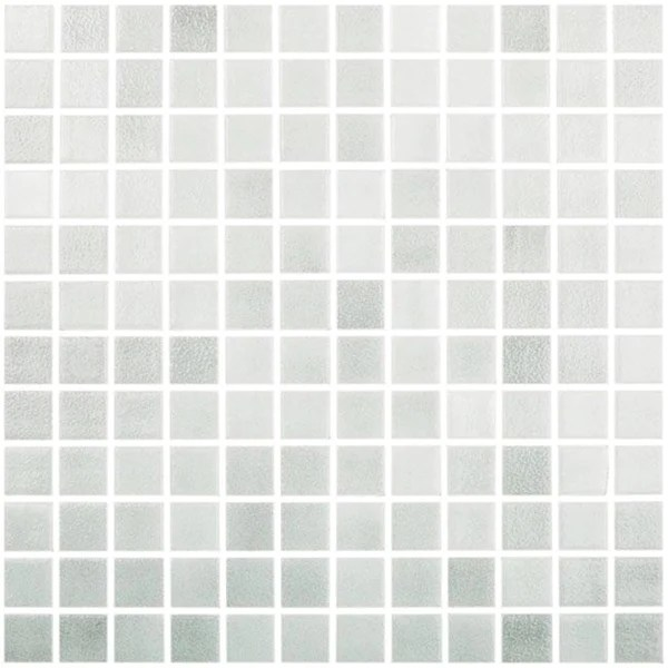 mtod0037 classic 1x1 stacked squares light gray glossy glass mosaic tile