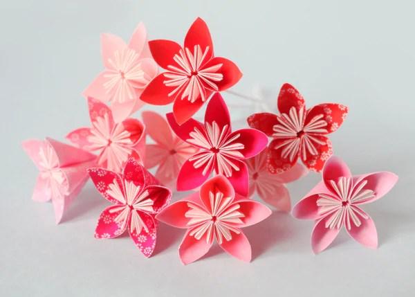 Diy Fleurs En Origami Facile Adeline Klam