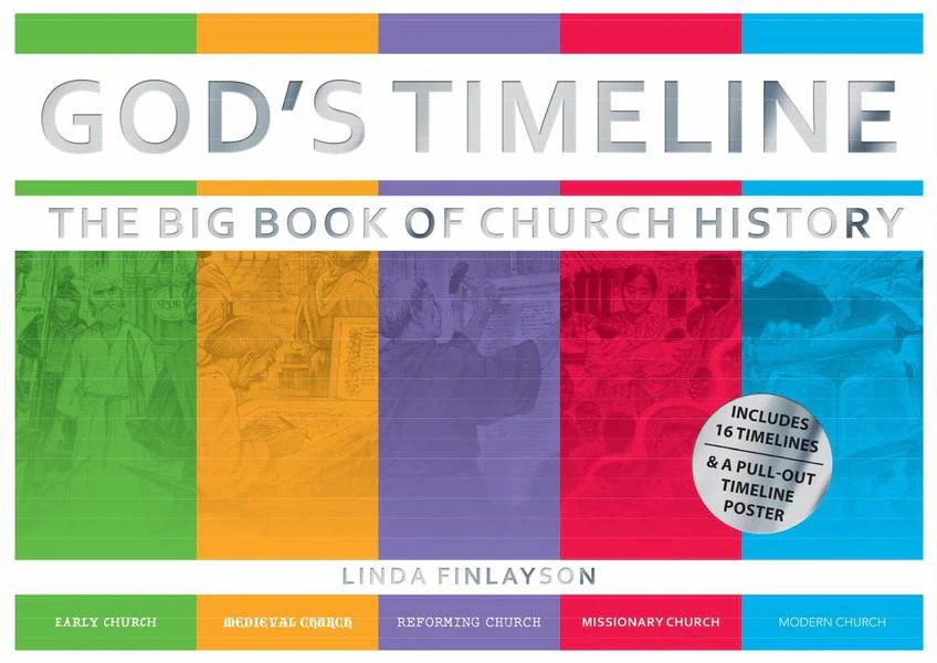 god s timeline the big book of church history