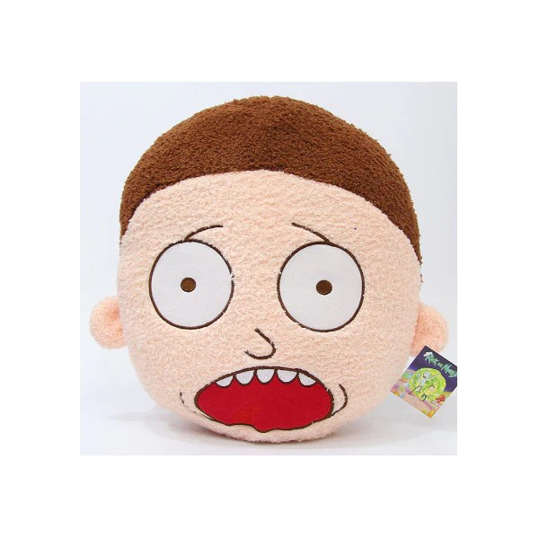 rick and morty screaming morty face pillow freeshipping