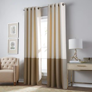 inside curtainworks tagged monterey textured lined grommet drape decoratd