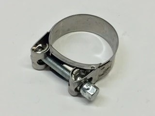 stainless steel band type exhaust clamp 1 3 4