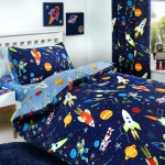 Supersonic Glow In The Dark Duvet Cover Set Curtains Fitted Sheet Appletree Living