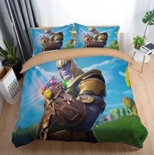 Game Fortnite Battle Royale Thanos Bedding Set Duvet Cover
