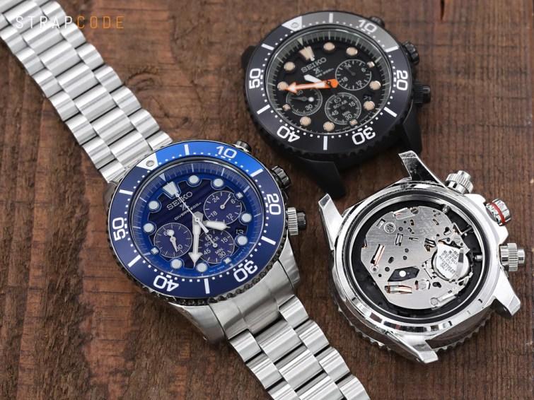 Seiko Modern Seiko Solar Analog Quartz watches