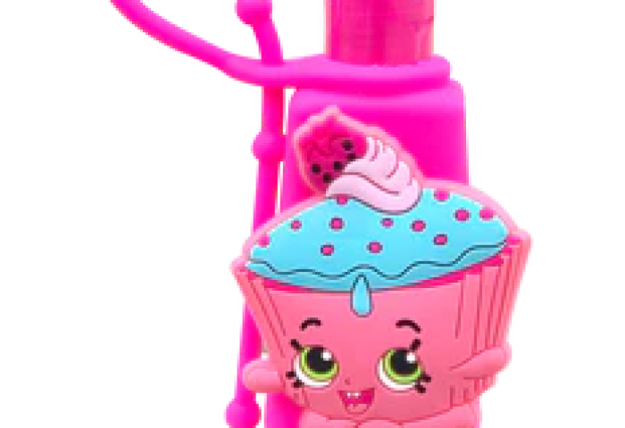 Shopkins Cupcake Chic 3d Hand Sanitizer Brush Buddies
