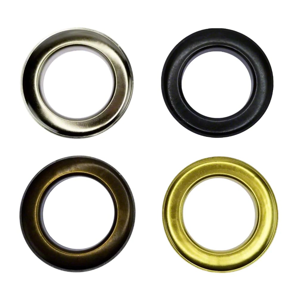 https www mytarp com products curtain grommets 2 inch large grommets size 15 for curtains drapes