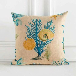 coral reef pillows citrus reef