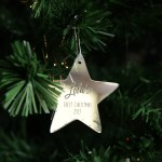 Baby S First Christmas Tree Ornament Willow Print Co