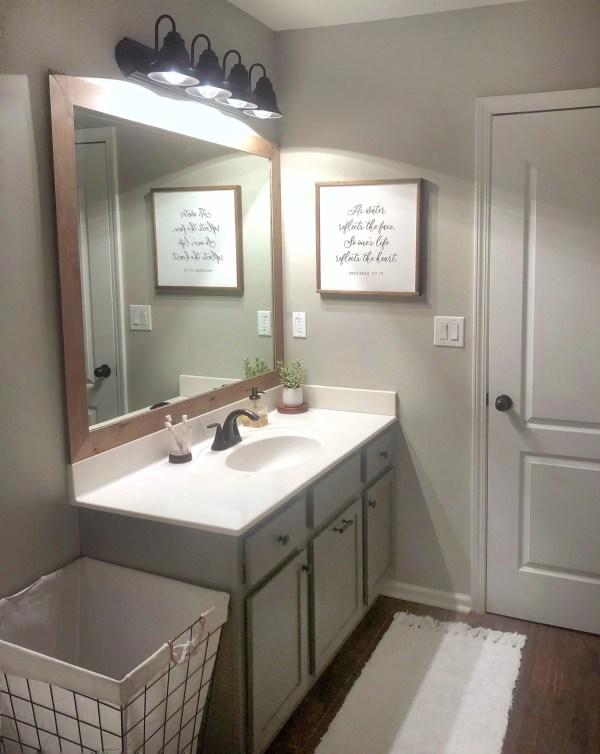 Builder Grade Mirror Diy, Best Glue For Mirror Frame