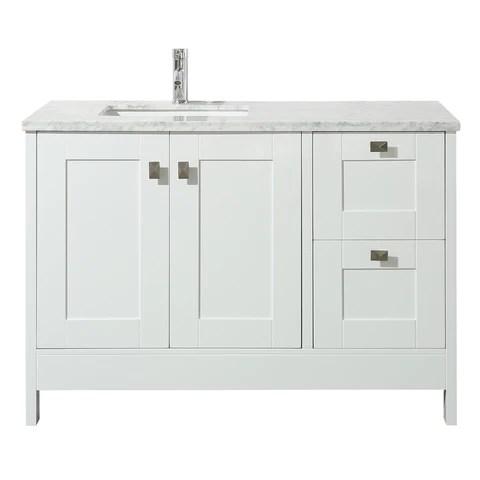 https stufurhome com products stufurhome calypso 48 inch white single sink bathroom vanity