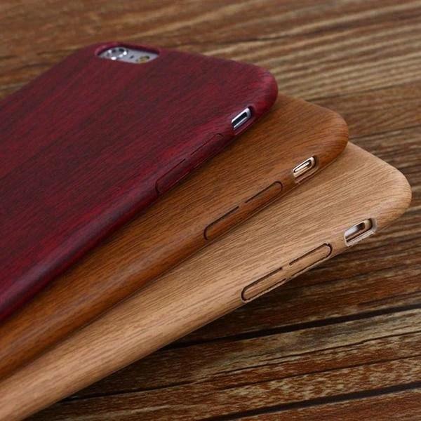 coque ultra slim vintage style bois pour iphone 6 plus et iphone 6s plus wiqeo