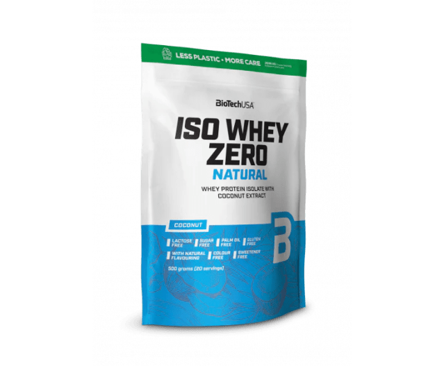 Biotech USA - Iso Whey Zero Natural
