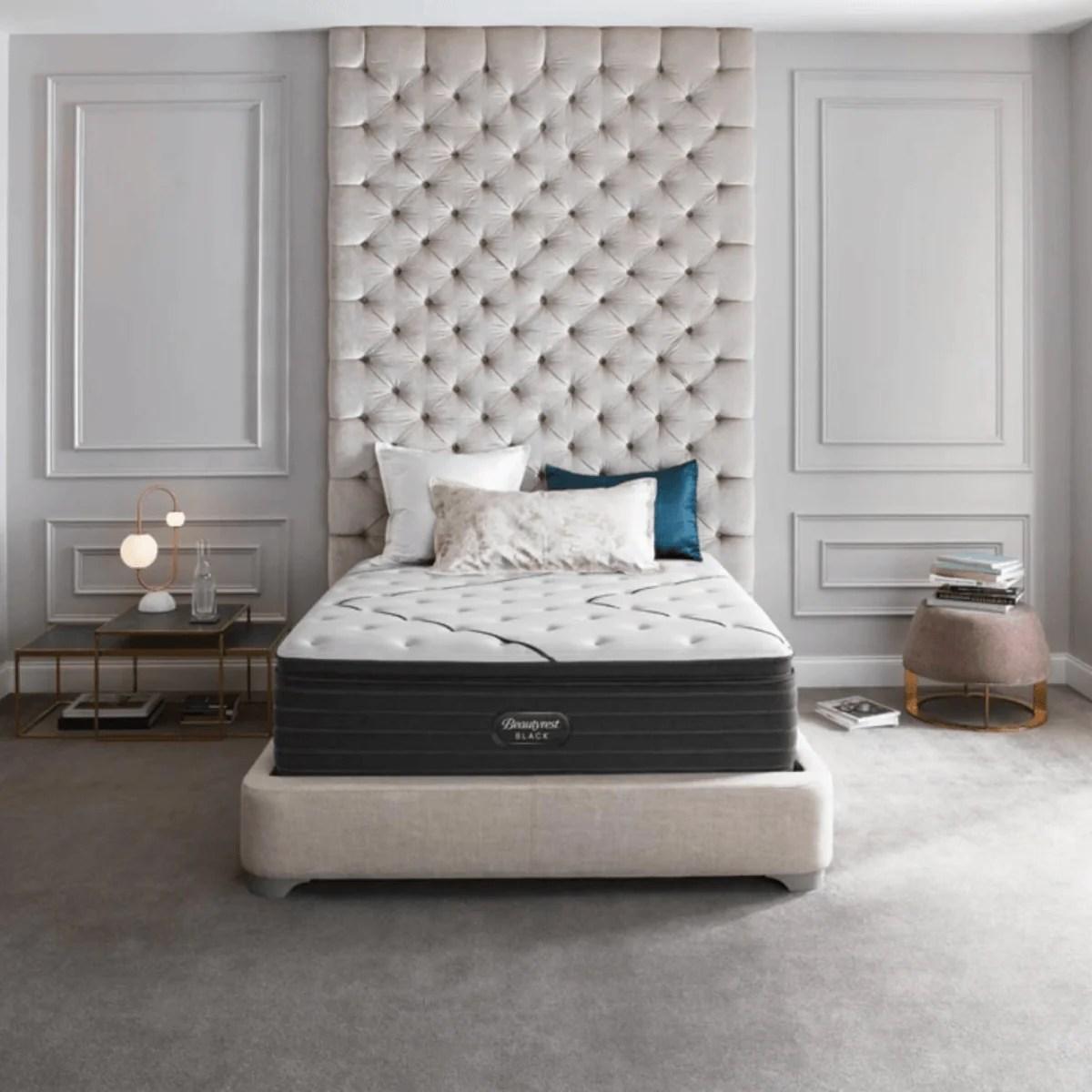 beautyrest black l class medium pillow top mattress
