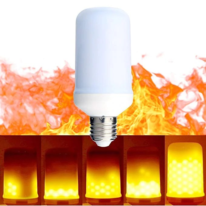 Led Light Bulb Looks Fire