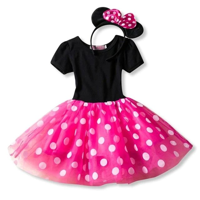 Minnie Mouse Dress For 4 Year Old 294b9a