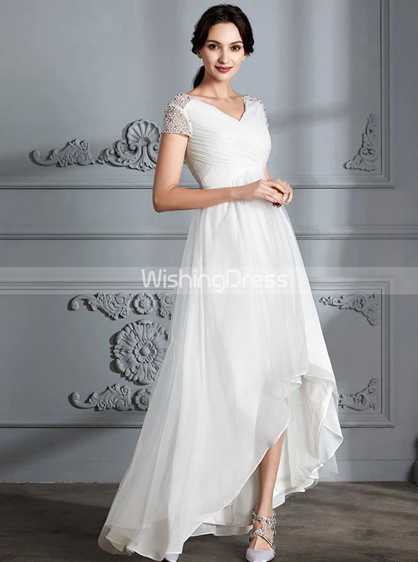Beach Wedding Dresses Under 100
